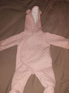 Baby Quilted Snow Suit